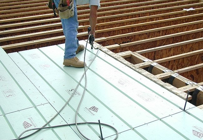 Radiant Heat Installation - New House