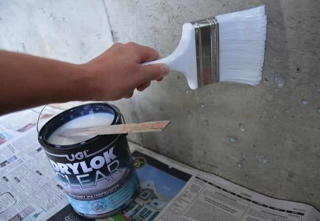 How to Use Masonry Waterproofer - Treatment Application