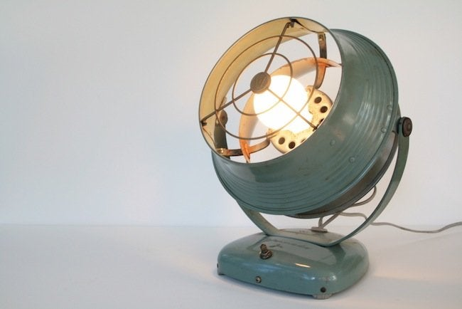 Tungsten Customs - Converted Fan Lamp