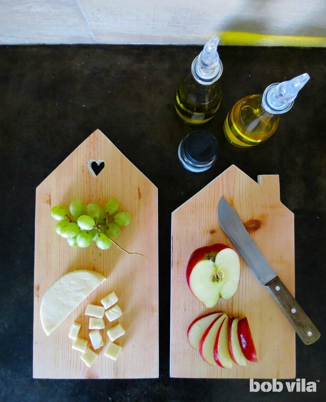 DIY Cutting Board - Finished Project