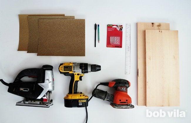 DIY Cutting Board - Supplies
