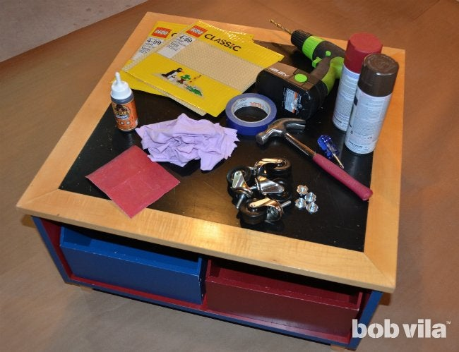 DIY Lego Table - Supplies