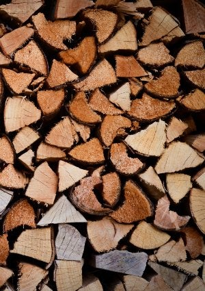How to Split Wood - Stack for Firewood