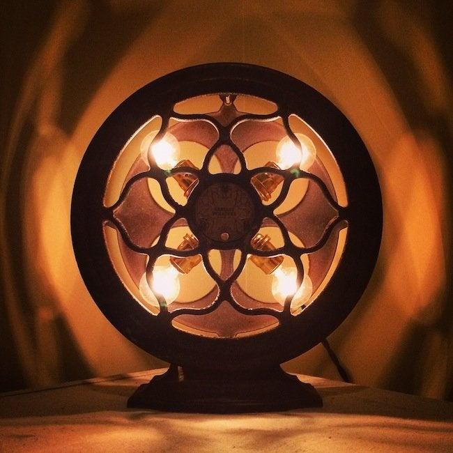 Stonehill Design - Crosley Dynacone Radio Speaker Lamp