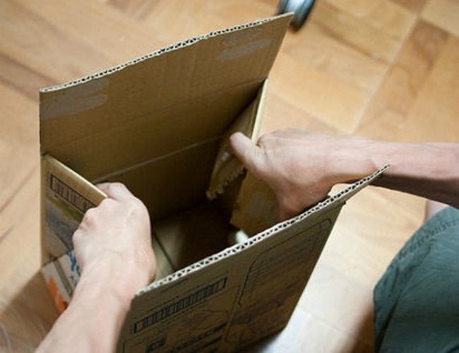 DIY Stool - Seating Made from Cardboard