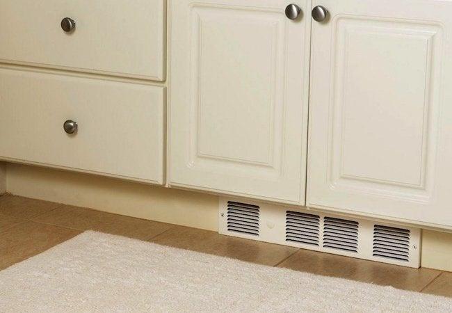 Kickspace Heaters - White Bathroom Unit