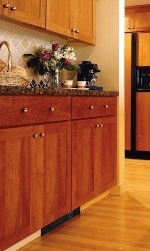 Kickspace Heaters - Wood Kitchen Unit