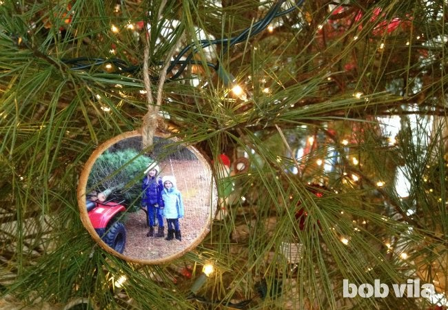 DIY Ornaments - Photo Christmas Tree Ornaments