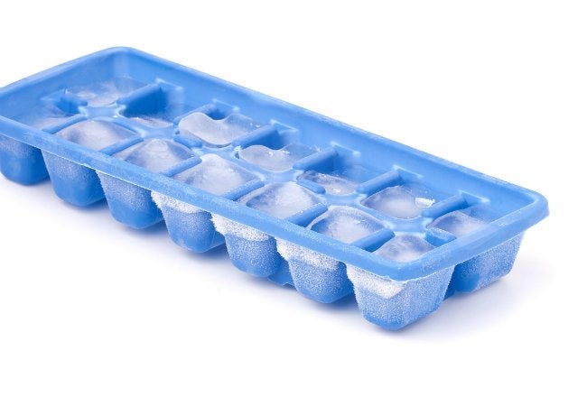 How to Get Dents Out of Carpet - Ice Cube Tray