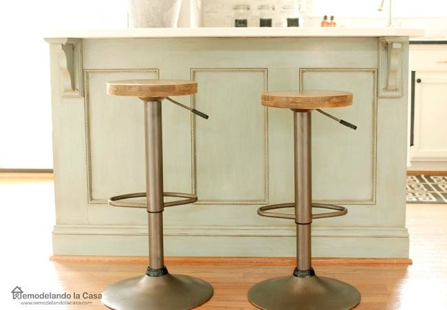 DIY Bar Stools - How to Upgrade What You Already Have