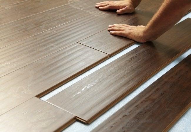 Laminate vs. Vinyl vs. Tile Flooring - Laminate Option