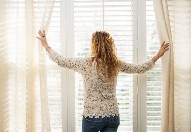 Winter Indoor Air Quality Solutions - Curtains and Blinds