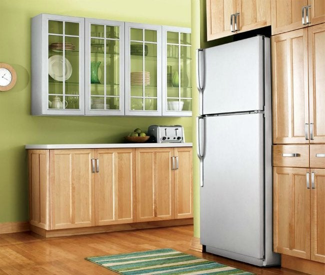 Painting Appliances - Budget Kitchen Update