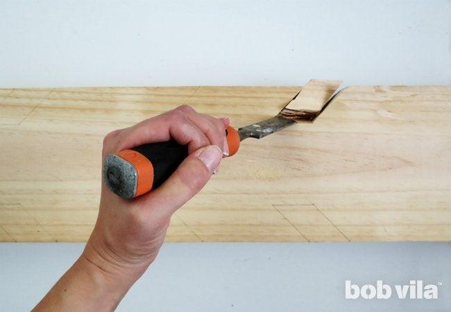 DIY Coat Rack - Step 4