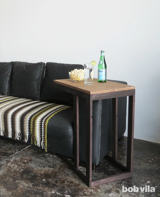 DIY Side Table - How to Build a C Table