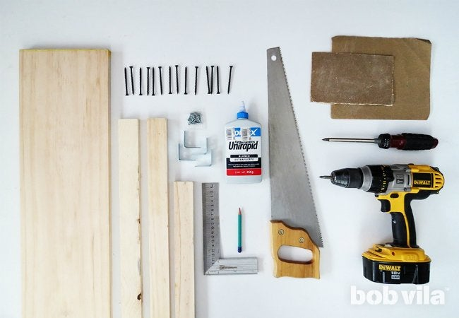 DIY Side Table - Supplies