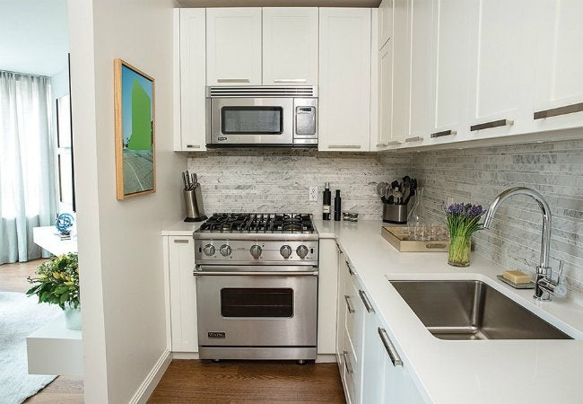 Painting Laminate Cabinets - White Kitchen Cabinets