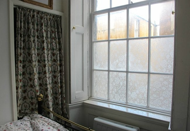 DIY Window Film - Temporary Window Treatments