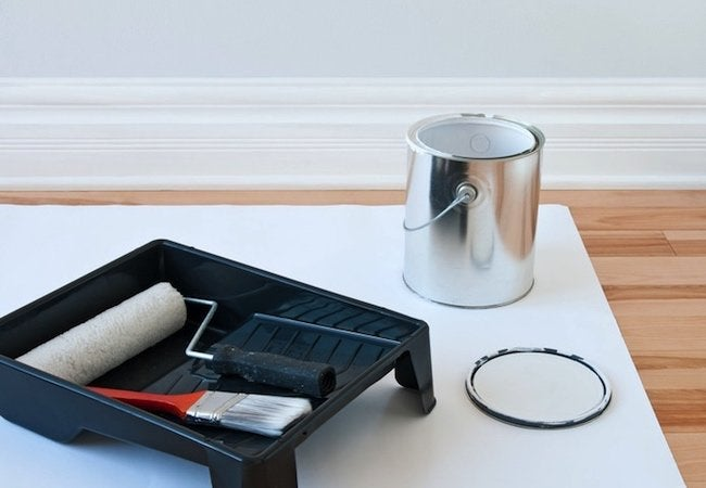 How To: Paint Baseboards