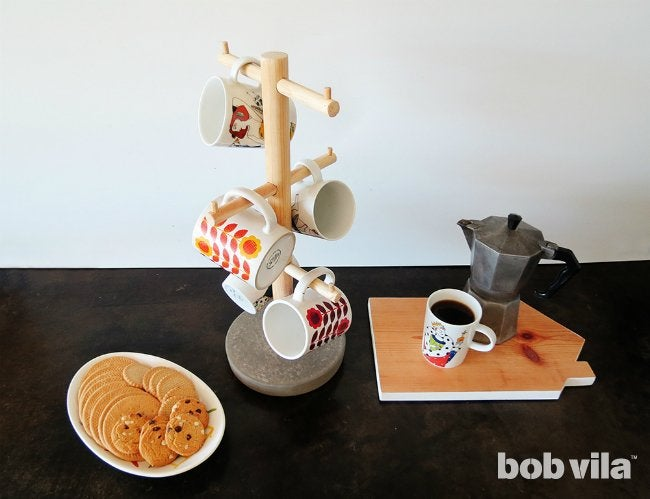 Coffee Mug Tree - How to Build Your Own
