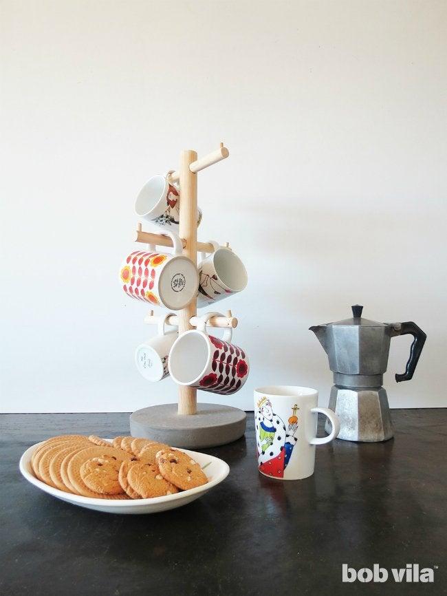 Coffee Mug Tree - How to Organize Your Coffee Bar