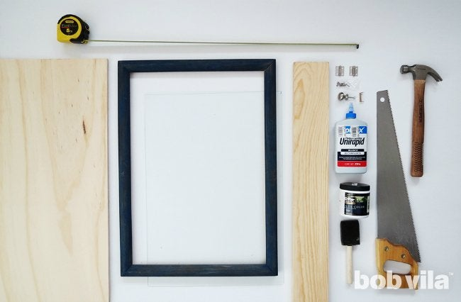 DIY Shadow Box - Supplies