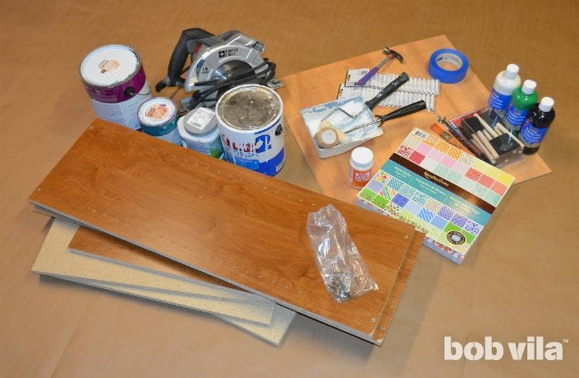 How To Build a Dollhouse - Supplies
