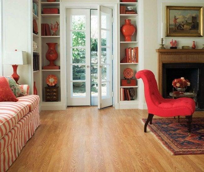 Laminate vs Hardwood - Laminate Flooring from Home Depot