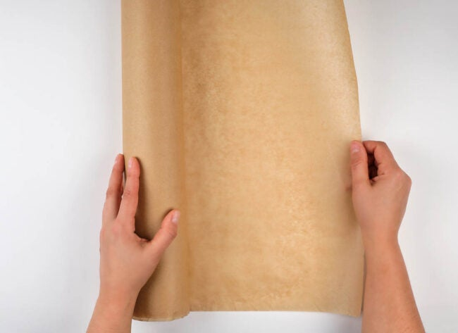 Paper Bag Floor Application