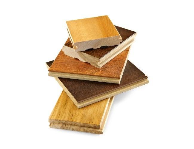 Laminate vs Hardwood - Flooring Samples