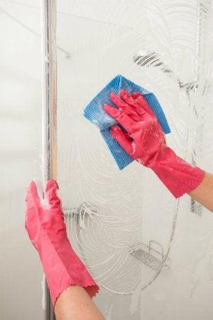How to Clean Plexiglass - Shower Door