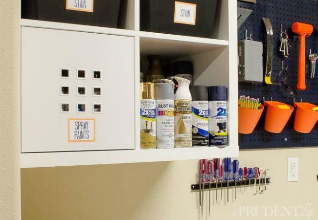 DIY Garage Shelves - IKEA