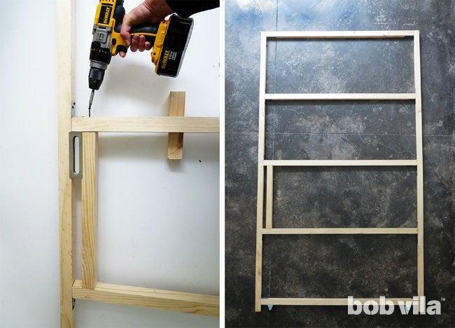 DIY Sliding Door - Step 4