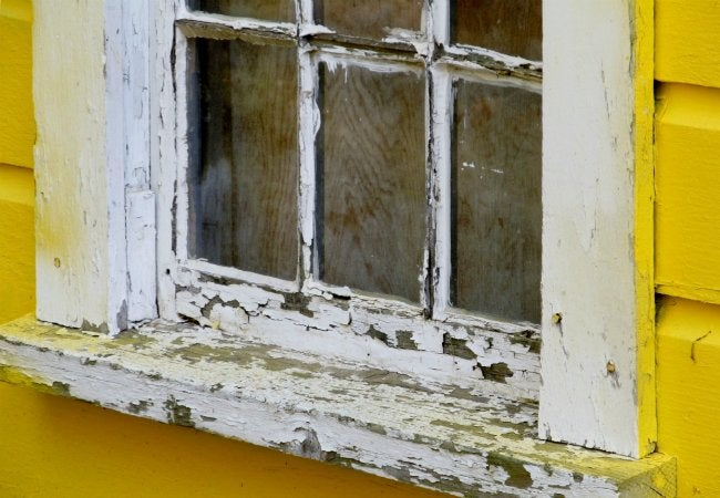 How to Test for Lead Paint - Old Windowsill