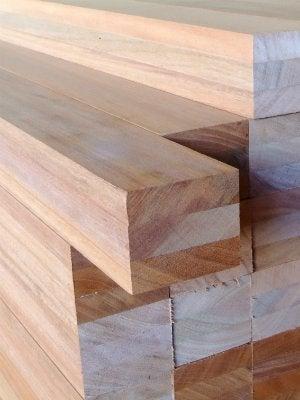 Lumber Sizes - Stack of Lumber
