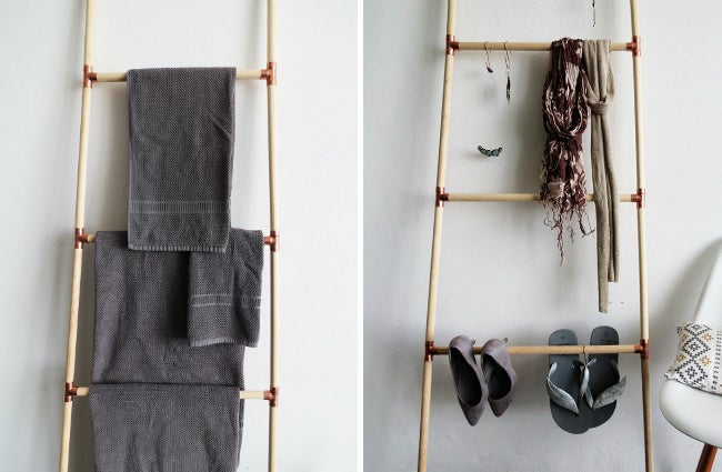 DIY Blanket Ladder - Alternative Uses