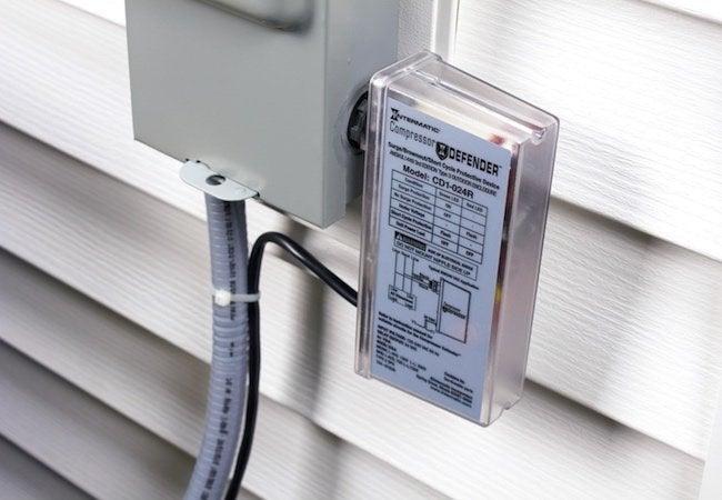 HVAC Surge Protection - Compressor Defender