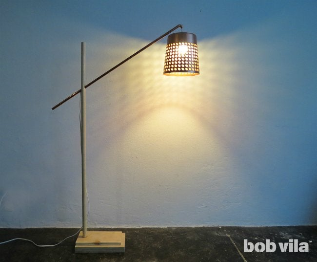 DIY Floor Lamp - DIY Lighting for Any Room