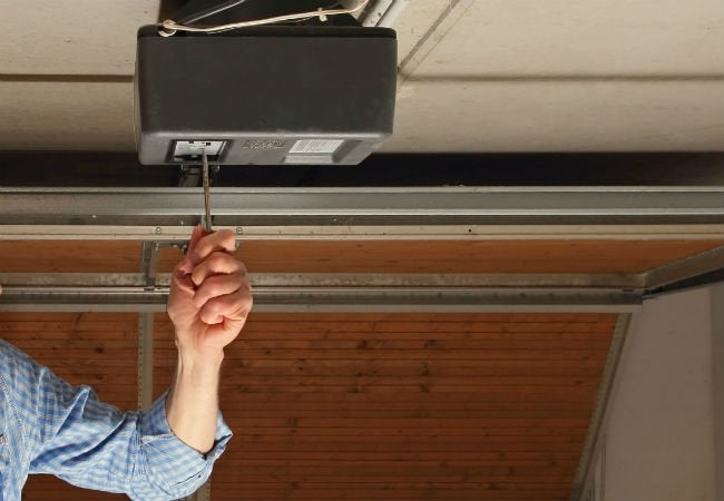 Garage Door Won't Close - Limits
