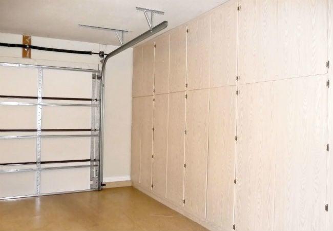 Garage Door Won't Close - Track