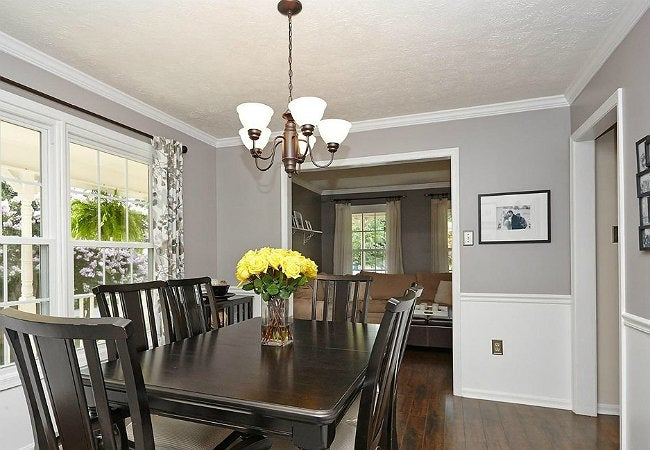 How to Texture a Ceiling - Dining Room