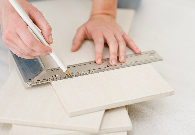 How to Cut Ceramic Tile - Prep for Cuts