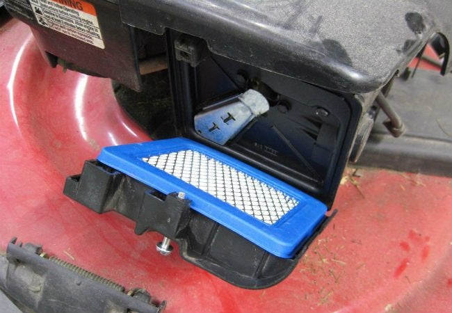 Lawn Mower Won't Start - Air Filter