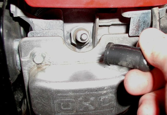 Lawn Mower Won't Start - Spark Plug