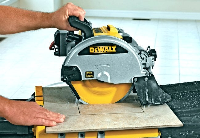 How to Cut Ceramic Tile - Using a Wet Saw
