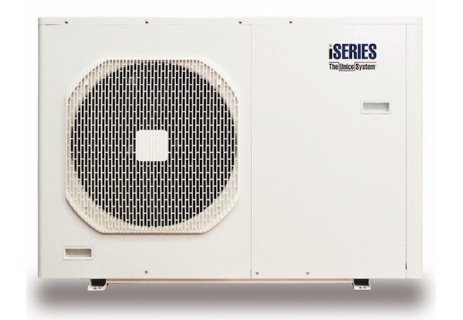 Small Duct High Velocity HVAC Efficiency - Unico iSeries Outdoor Unit
