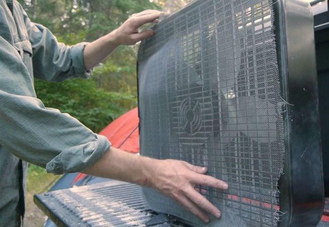 DIY Mosquito Trap - Fan