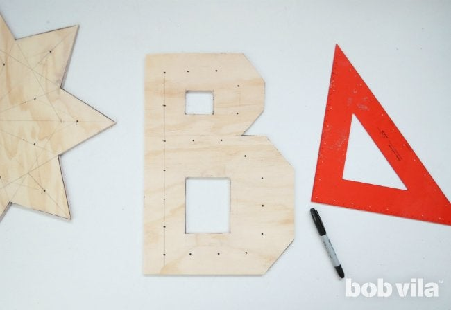 DIY Marquee Letter - Step 4