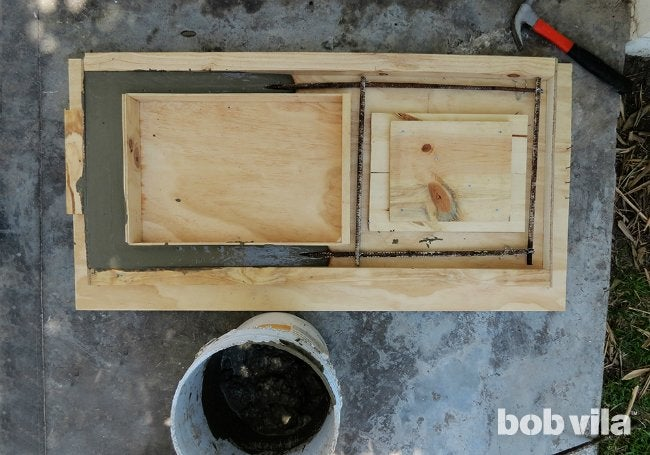 DIY Outdoor Kitchen - Step 4