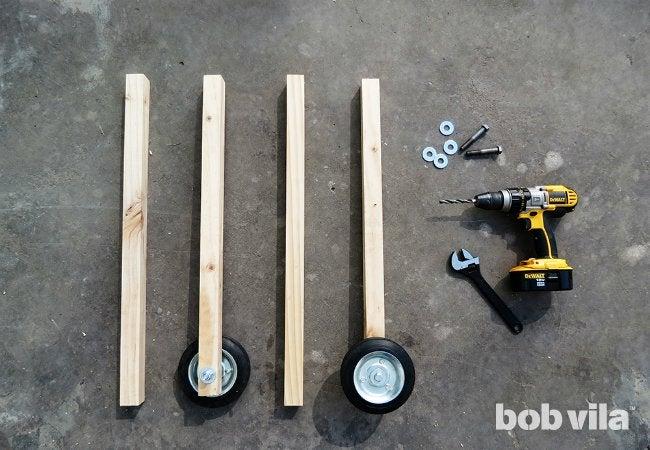 DIY Outdoor Kitchen - Step 6